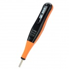 "Professional 0.8"" LCD Digital Induction Power Test Pen - Black + Orange"