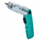 Pro'sKit PT-1136F Foldable Cordless Screwdriver Kit with LED Light - Silver + Green