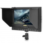 "External 7"" LCD High-Definition RGB Display for Canon 5D-II - Black (DC 12V)"