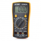 "Atten ATW830L 2.2"" LCD Digital Multimeter - Yellow + Grey (1 x 9V/6F22)"