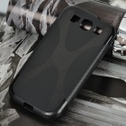 """X"" Style Protective Back Case for Samsung Galaxy S3 i9300 - Black"