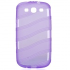 Protective TPU Back Case for Samsung Galaxy S3 i9300 - Purple