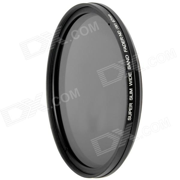FOTGA Ultra Thin Fader Variable Neutral Density ND2~ND400 Filter (67mm) fotga neutral density nd2 nd400 fader nd filter 72mm