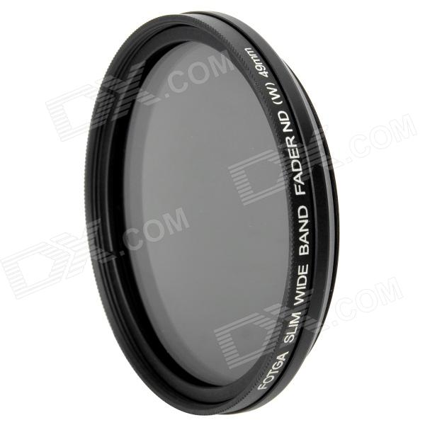 FOTGA Ultra Thin Fader Variable Neutral Density ND2~ND400 Filter (49mm) fotga neutral density nd2 nd400 fader nd filter 72mm