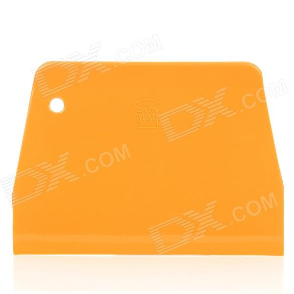 Plastic Scraper Cutter Plaque de cuisson Ware - Orange