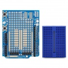 Prototype Shield + Mini Breadboard for Arduino