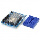 Prototype Shield + Mini Breadboard  for Arduino (Works with Official Arduino Boards)