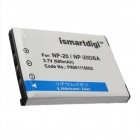 Ismartdigi NP-20 Replacement 3.7V 680mAh Li-ion Battery for Casio Exilim Card EX-S880 / EX-S770SR