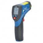 1.8'' LCD CEM DT-8865 Compact Infrared Thermometer w/ Dual Laser Targeting - Blue + Deep Grey