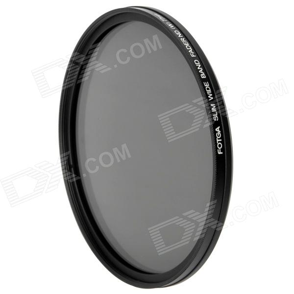 FOTGA Ultra Thin Fader Variable Neutral Density ND2~ND400 Filter (77mm) fotga neutral density nd2 nd400 fader nd filter 72mm