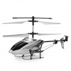Rechargeable 3-CH R/C Helicopter w/ IR Throttle Stick Controller & Gyroscope - Black + Silver