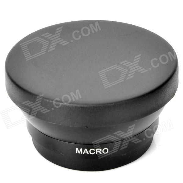 49mm 0.45X Pro Digital Precision Camera Wide Angle Conversion Lens w/ Macro - Black 52mm 0 45x pro digital precision camera wide angle conversion lens w macro black