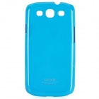 Protective Plastic Back Case for Samsung Galaxy S3 i9300 - Blue