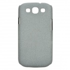 Protective PC Back Case w/ Screen Protector for Samsung Galaxy S3 i9300 - Grey