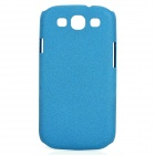 Protective PC Back Case w/ Screen Protector for Samsung Galaxy S3 i9300 - Blue