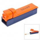 Cigarette Tube Tobacco Filling Injector - Blue + Orange
