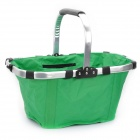 Folded Basket for Car / Home - Green (Size L)