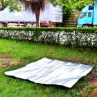 Outdoor Moisture-Proof Picnic Blanket Camping Mat Pad - Silver (200 x 200cm)