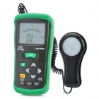 CEM DT-1308 2.9'' LCD Digital Light Meter - Green + Black (1 x 9V)