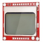 "1.6"" LCD Nokia 5110 LCD Module with Blue Backlit for Arduino (Works with Official Arduino Boards)"