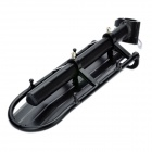 Mountain Road Bike Bicycle Aluminium Alloy Quick Realease Hinten Hinten Gepäck Rack - Schwarz