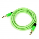 3.5mm Male to Male Audio Cable - Green