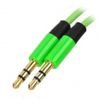 3.5mm Male to Male Audio Cable - Green (110cm)