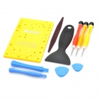Kaisi 10-in-1 Screwdriver Opening Pry Tool Film Bubble Scraper Disassembly Repair Kit for Iphone