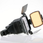 20W 1800Lux 10-LED Video Light w/ Battery / Light Connector Adapter / Charger / Color Filter
