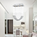 K9 Crystal Kitchen Pendant Light with 5 Lights (110-120v)