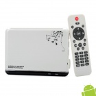 GV-10 Android 4.0 Multi-Media Player w/ WiFi / HDMI / USB / SD / LAN - White (4GB)