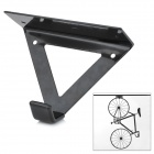 Useful Steel Ceiling Hook Mount Holder for Bike Bicycle - Black (Max. Load 25KG)