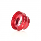 2.2X Precision Cellphone Camera Wide Angle Conversion Telephoto Lens - Red