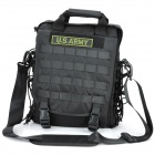 Outdoor Military War Game Multi-Function Oxford Fabric Bag - Black
