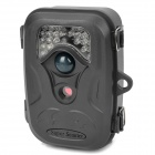"2.4"" LCD GSM / MMS Wildlife Trail Camera w/ 26-IR LED / SD / TV-Out - Black (8 x AA)"