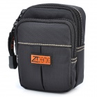 Outdoor Sports Wait Bag for Mobile Phone / Small Gadgets - Black (0.7L)