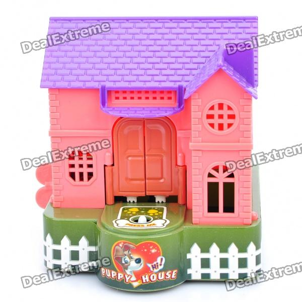 Mechanical Puppy House Coin Bank - Random Color (Large)