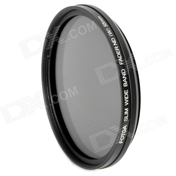 FOTGA Ultra Thin Fader Variable Neutral Density ND2~ND400 Filter (55mm) fotga neutral density nd2 nd400 fader nd filter 72mm