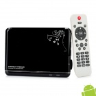 GV-10 Android 4.0 Multi-Media Player w/ WiFi / HDMI / USB / SD / LAN - Black (4GB)
