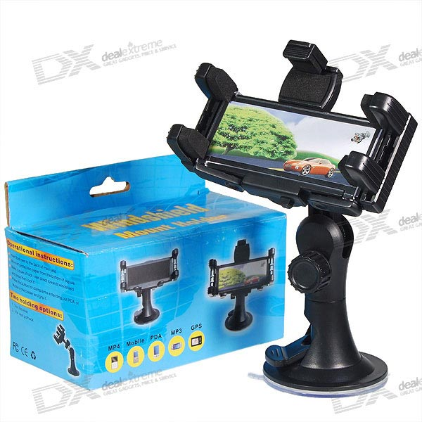 Universal Windshield Mount Holder for GPS and PDA Units