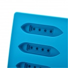 Silicone 6-Titanic Design Ice Cubes Trays Maker DIY Mould - Blue