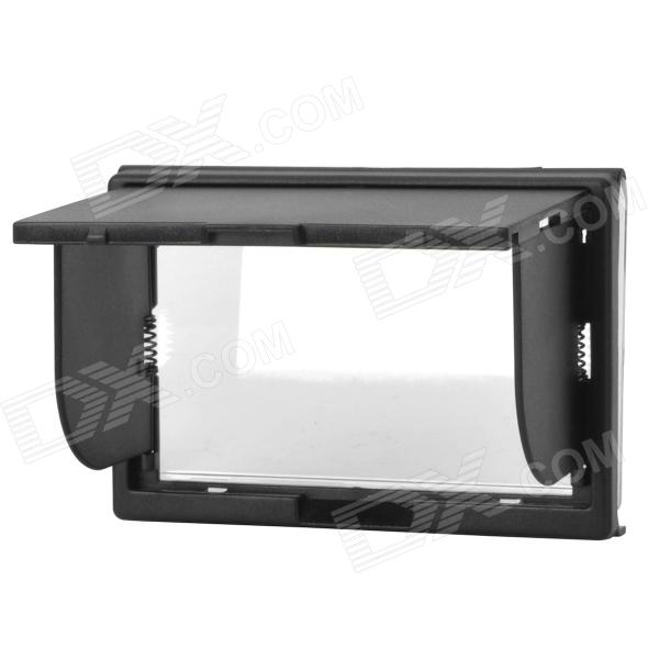 Pop-up Shade LCD Hood Cover Screen Protector for Canon / Nikon Cameras
