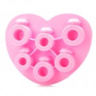 Silicone Love Ring Shaped Ice Cubes Trays Maker DIY Mould - Random Color