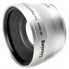 40.5mm 0.45X Pro Digital Precision Camera Wide Angle Conversion Lens w/ Macro - Silver