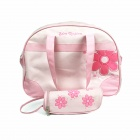 Portable Mummy Bag Set - Pink