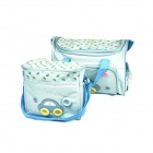 Portable Mummy Bags - Blue (2-Piece Set)