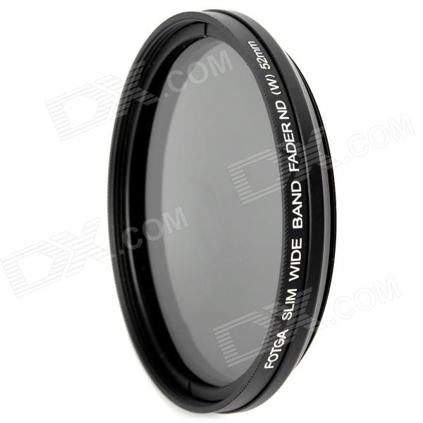 FOTGA Ultra Thin Fader Variable Neutral Density ND2~ND400 Filter (52mm) fotga neutral density nd2 nd400 fader nd filter 72mm