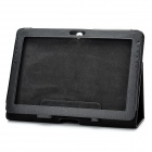 Protective PU Leather Case for Samsung Galaxy Tab 2 P5100 - Black