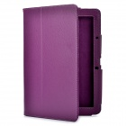 Protective PU Leather Case for Acer Iconia Tab A510 - Purple