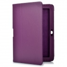 Protective PU Leather Case for Samsung Galaxy Tab 2 P5100 - Purple